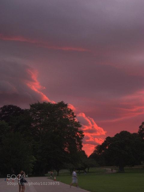 Photograph Culdford sky by Emma Pérez on 500px