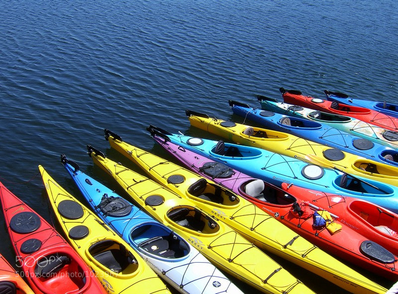 Photograph Kayaks by Don Margulis on 500px