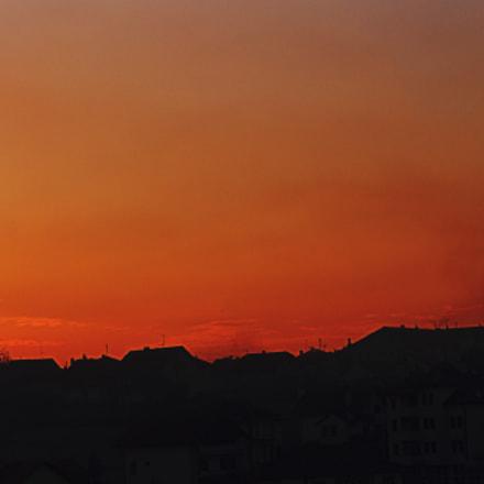 Sunrise skyline