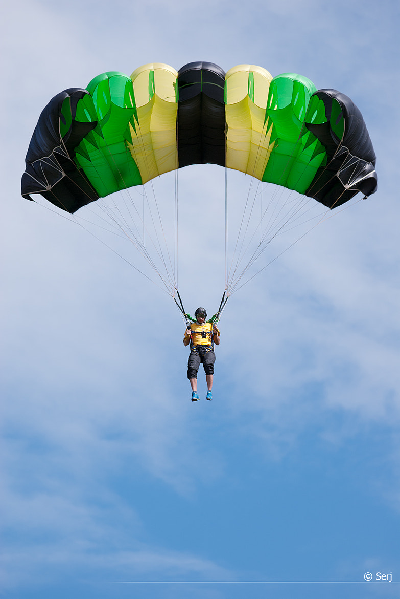 Photograph skydiver by Sergey Tikhomirov on 500px