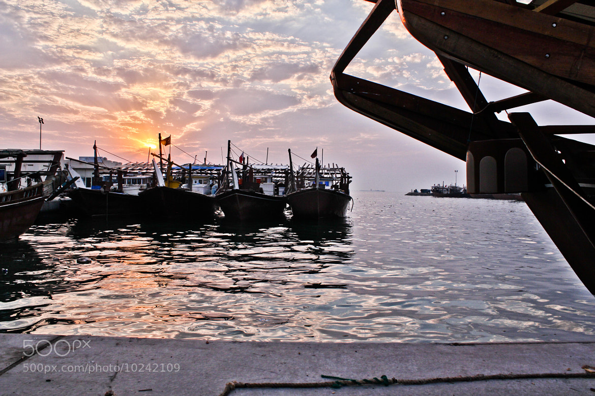 Photograph Sitra  Seaport(HDR)  by Abdullah Yousif Almerbatti on 500px