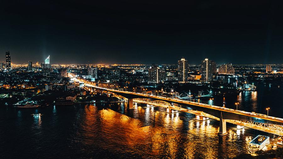Bangkok Bridges by Ketan Jethwa on 500px.com