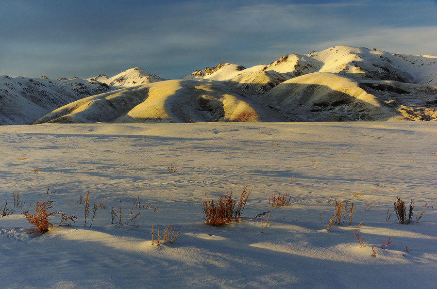 Photograph sunset in Tian Shan mountains by Arkady Motovilov on 500px