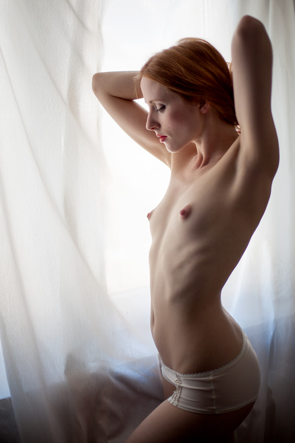 . . . at the window