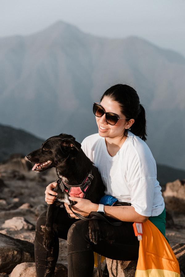 Kathy & Sol on the mountain by Adriana Samanez on 500px.com