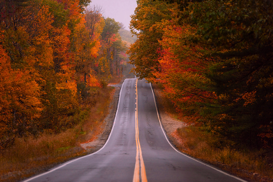 Autumn in Maine by John S on 500px.com