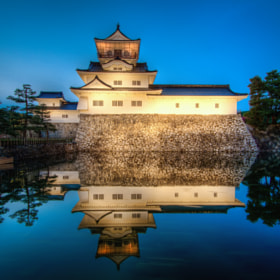 Toyama Castle Blue Hour by Agustin Rafael Reyes (arcreyes)) on 500px.com