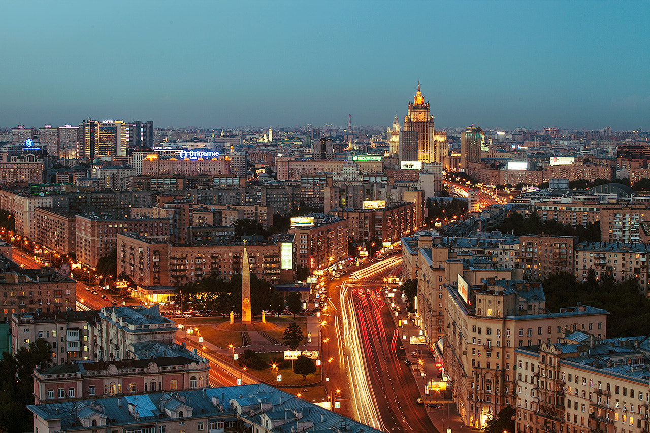 Photograph Moscow roofs (1) by Georgy Tolstoy on 500px