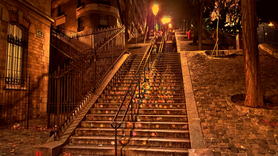 Steps of Paris. by David Lally on 500px.com