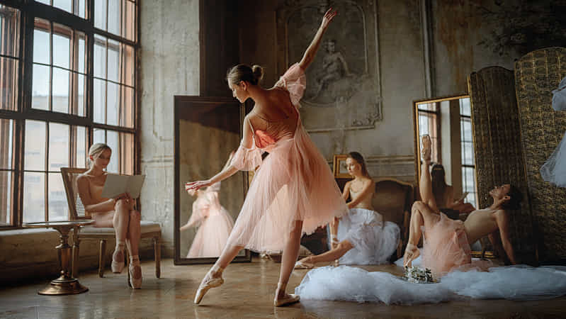 Ballet by Georgy Chernyadyev (Portrait)