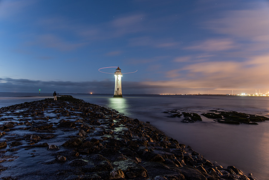 A Drone Around The Lighthouse  by Jon A on 500px.com