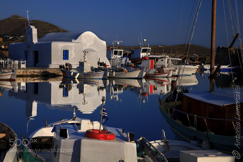 Photograph Naousa Paros by Antonis Lemonakis on 500px