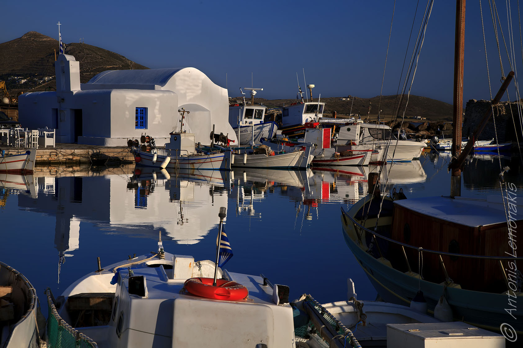 Photograph Naousa Paros by Antonis Lemonakis on 500px