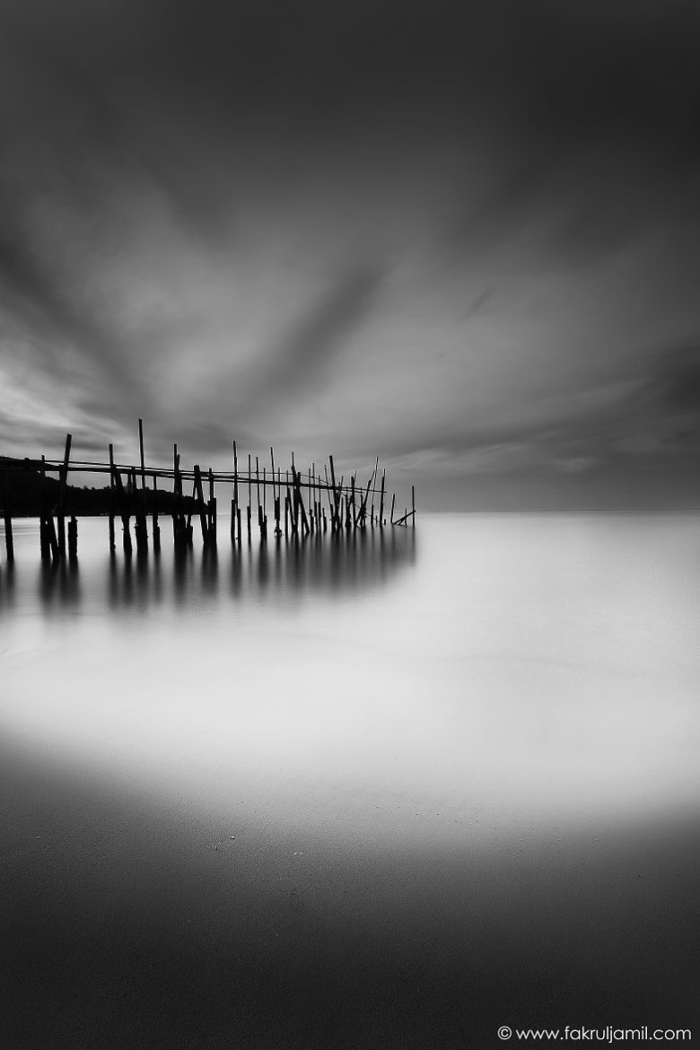 Photograph Old Wooden Jetty by Fakrul Jamil on 500px