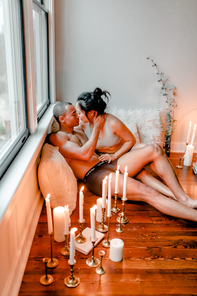 Couples Boudoir Durham North Carolina