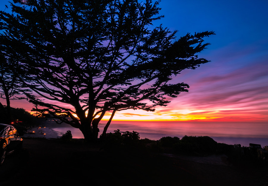 Photograph Carmel Sunset (Fiery Silhouette) by MacesPlaces on 500px