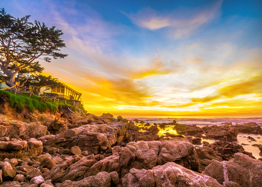 Photograph Carmel Sunset (Golden Sunset) by MacesPlaces on 500px