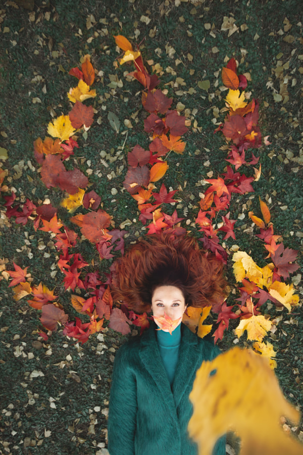 Autumn hair by Julia Wimmerlin on 500px.com