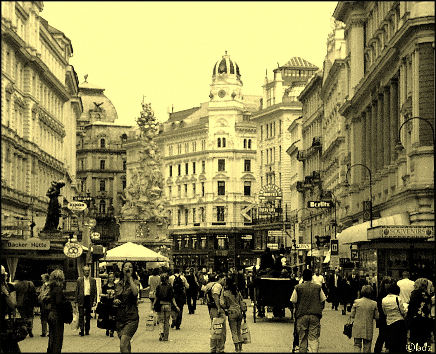 Photograph good old Vienna ;) (city center) by Betty Ditscheid-Zweers on 500px
