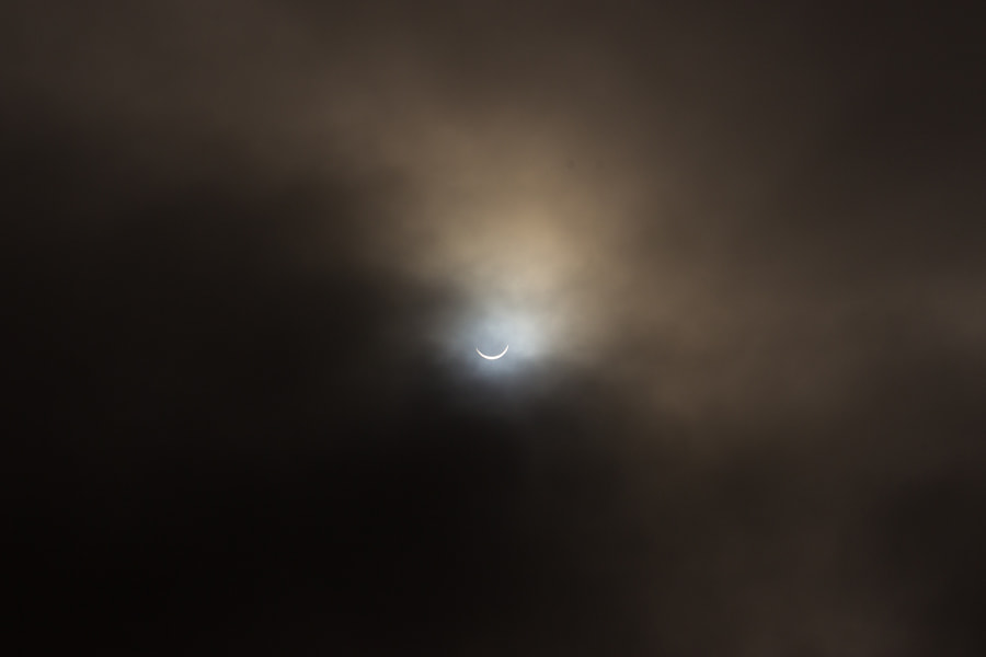 Photograph Solar Eclipse by Mark Haldane on 500px
