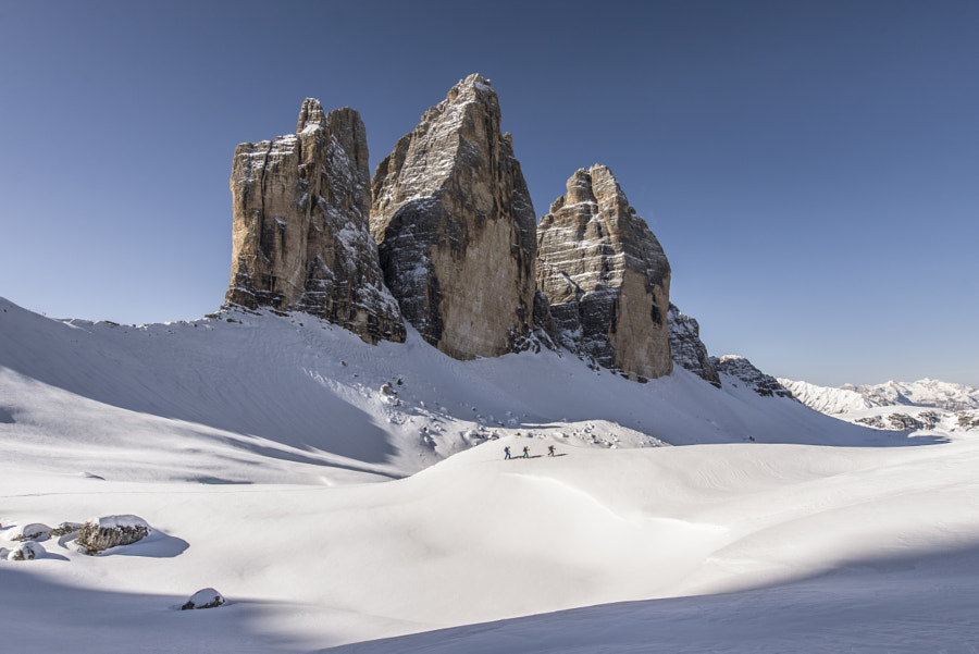 Photograph Touring around the Tre Cime. by James Rushforth on 500px