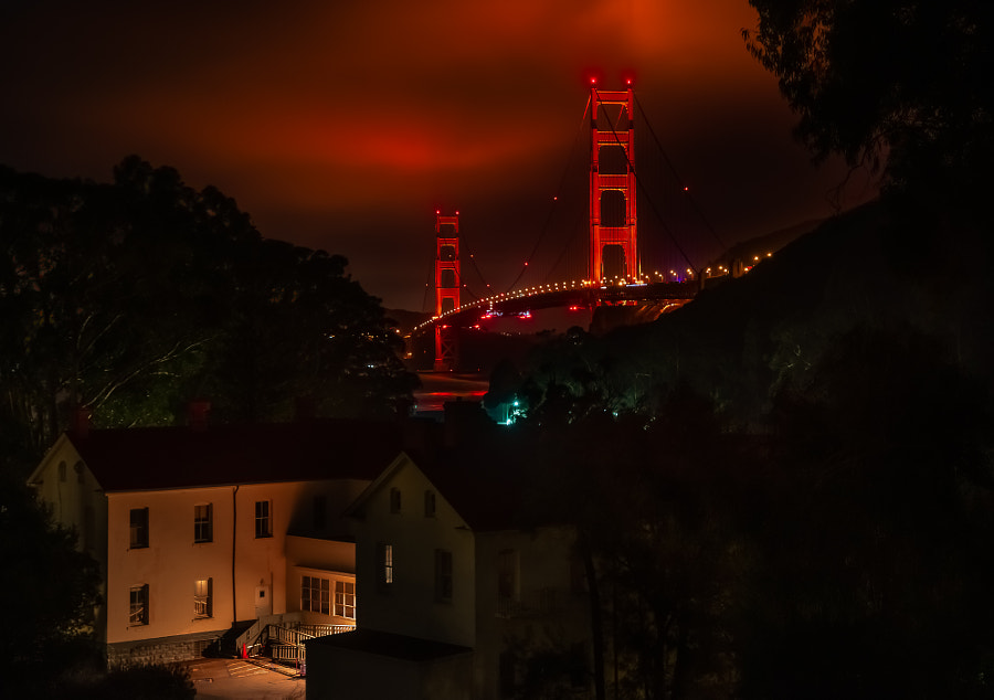 Bridge from Cavallo Point by Jerry Nichols on 500px.com