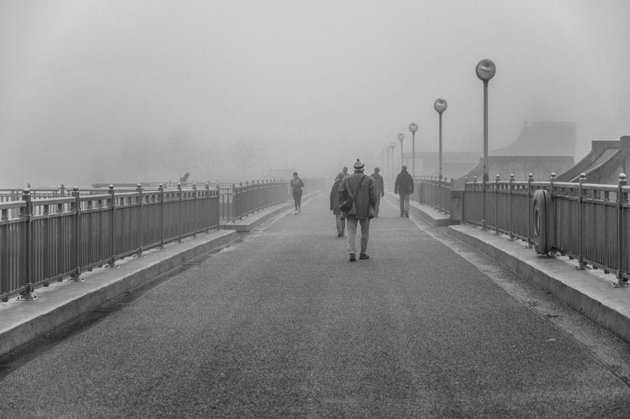 Weserwehr - in the fog by Jürgen Meinke on 500px.com