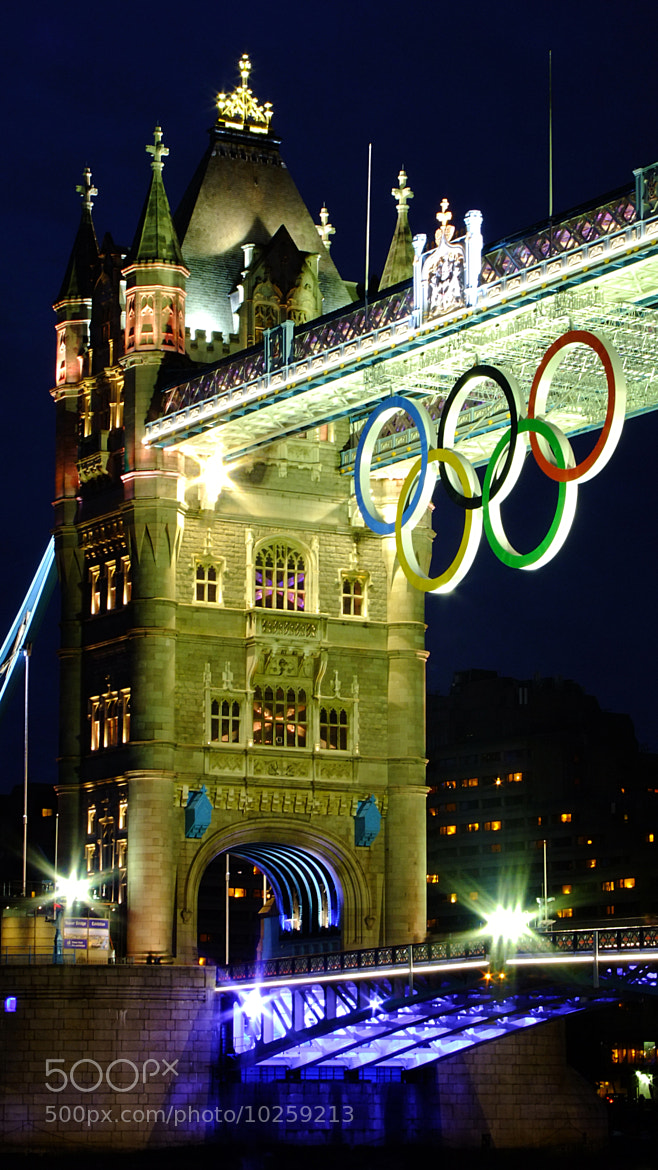 Photograph Olympic Rings - London 2012 by Brandon Douglas on 500px