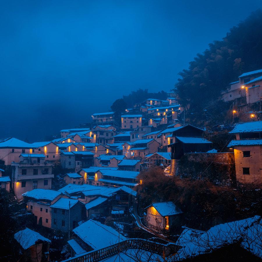 夜色 by 虹思远 on 500px.com