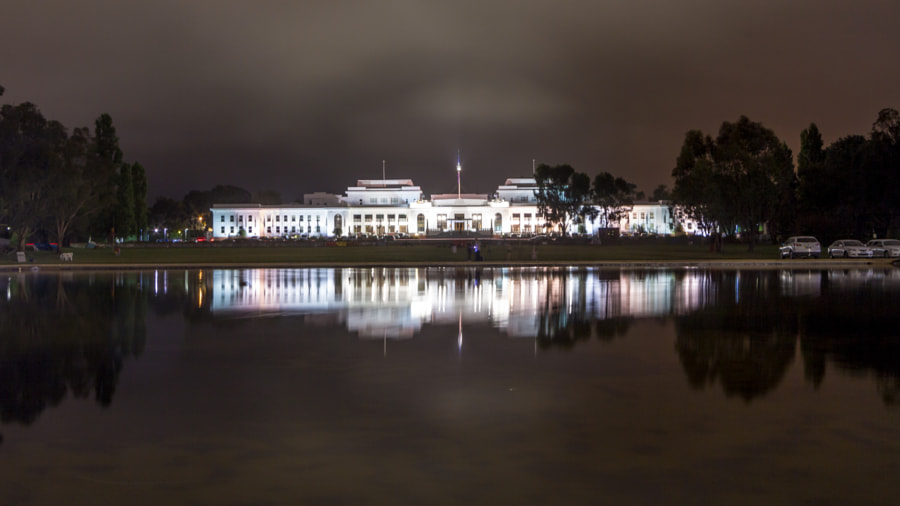 Photograph Canberra's Old Parliament House by Travis Chau on 500px