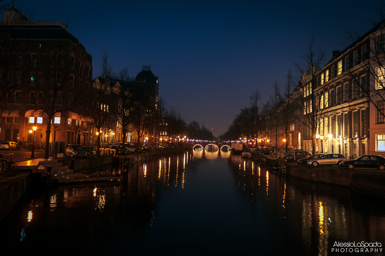 Photograph Amsterdam by night by Alessio La Spada on 500px
