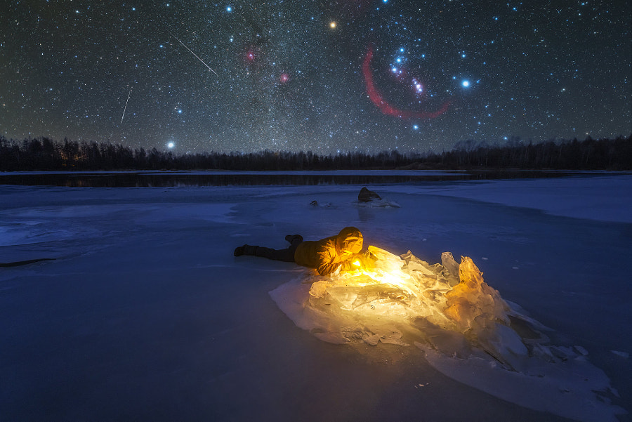 星空下的冰湖 by PeterLau  on 500px.com