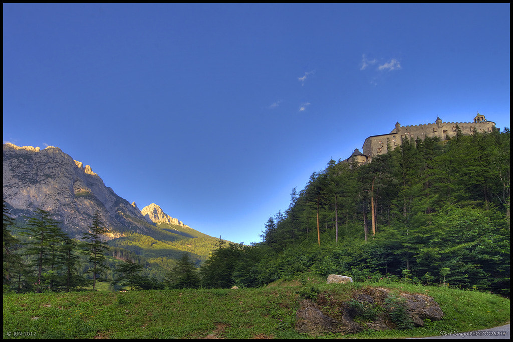 Photograph Hohenwerfen Castle by Paul Sirugo on 500px