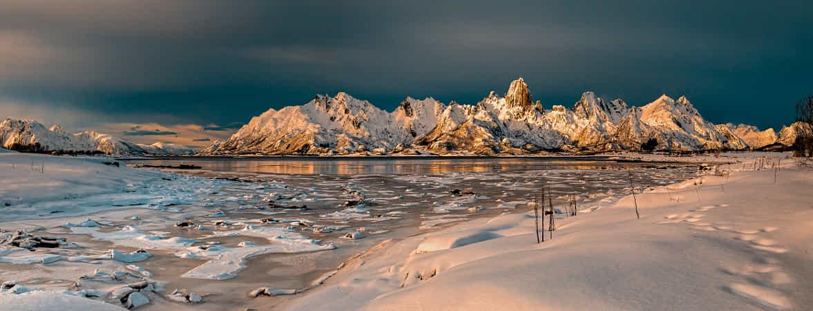 Frozen Landscape by Michael Voss
