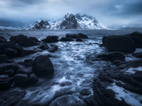 Dramatic Coast in Norway by Daniel Gastager