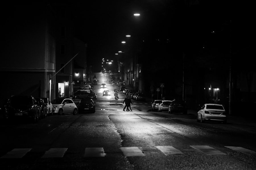 Bw street series #21 by Harri Alitalo on 500px.com