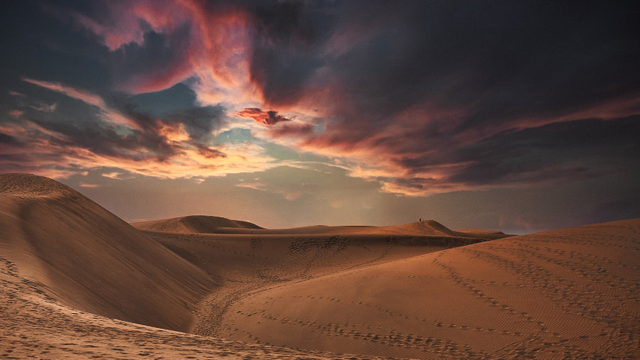 Gran Canarian Dunes by David Morgan on 500px.com