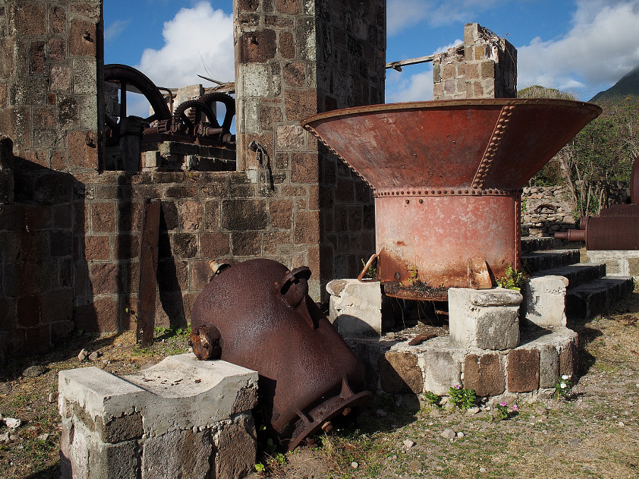 Photograph Abandoned Sugar Mill (Nevis) by Nancy Lundebjerg on 500px