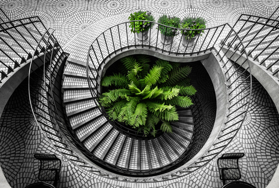 Photograph Embarcadero Stairs by Kevin Huang on 500px