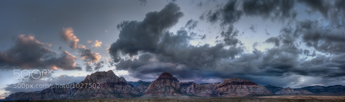 Photograph Storm over Red Rock by Brad Denny on 500px