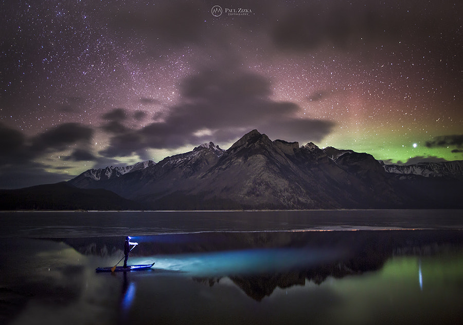 Aurora Paddler by Paul Zizka on 500px.com