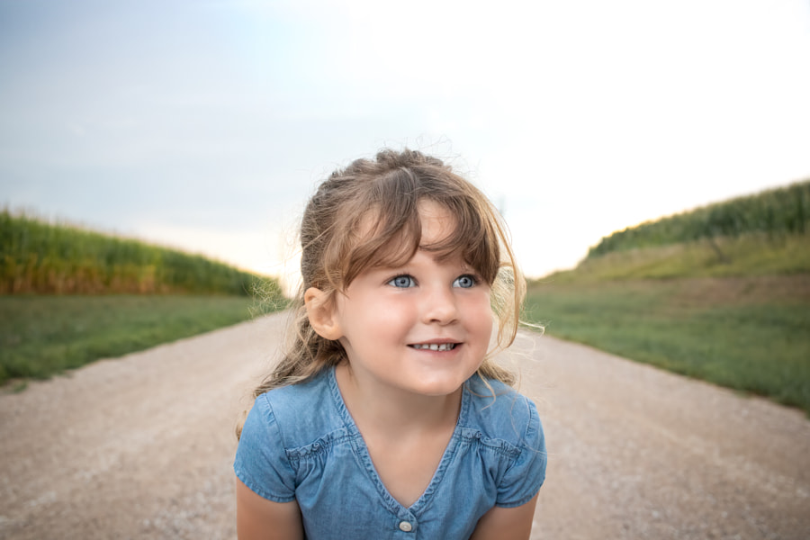 Happy Little Girl by Chris Johnson on 500px.com