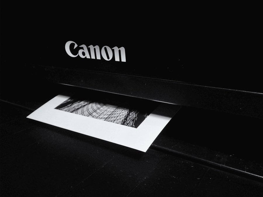 Canon printer. by Luca Roveda on 500px.com