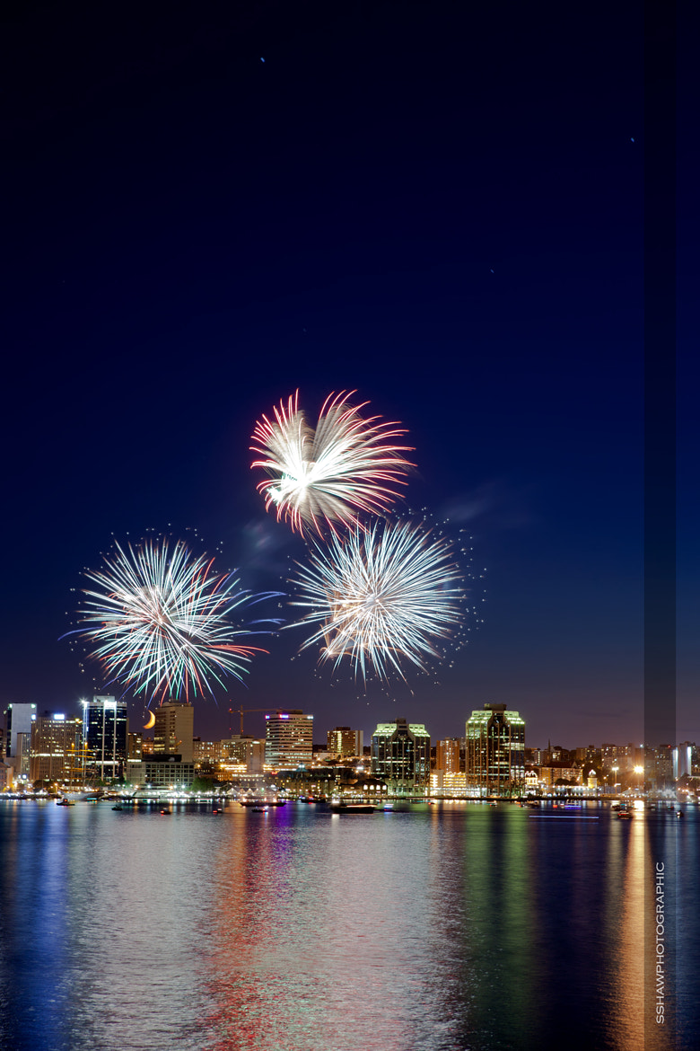 Photograph Halifax Fireworks by Shane Shaw on 500px