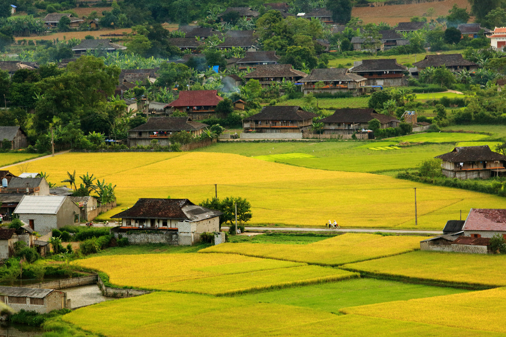 Photograph Peaceful Village by Viet Hung on 500px
