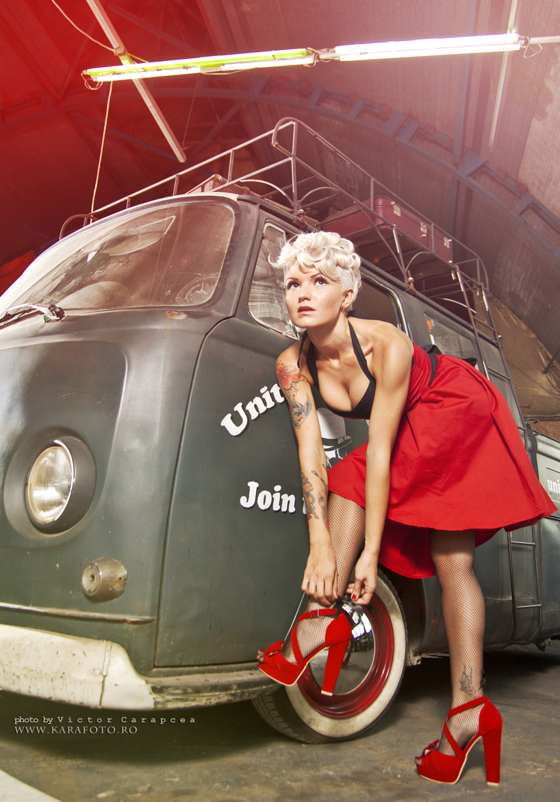 Photograph pin up van by Victor Carapcea on 500px