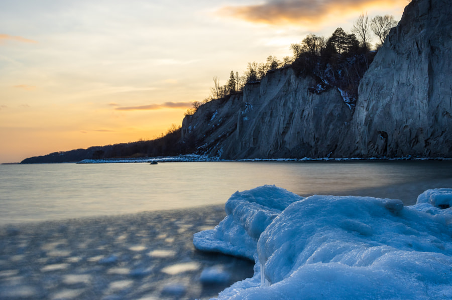 Sunset Over Bluffs by Kyle Brown on 500px.com