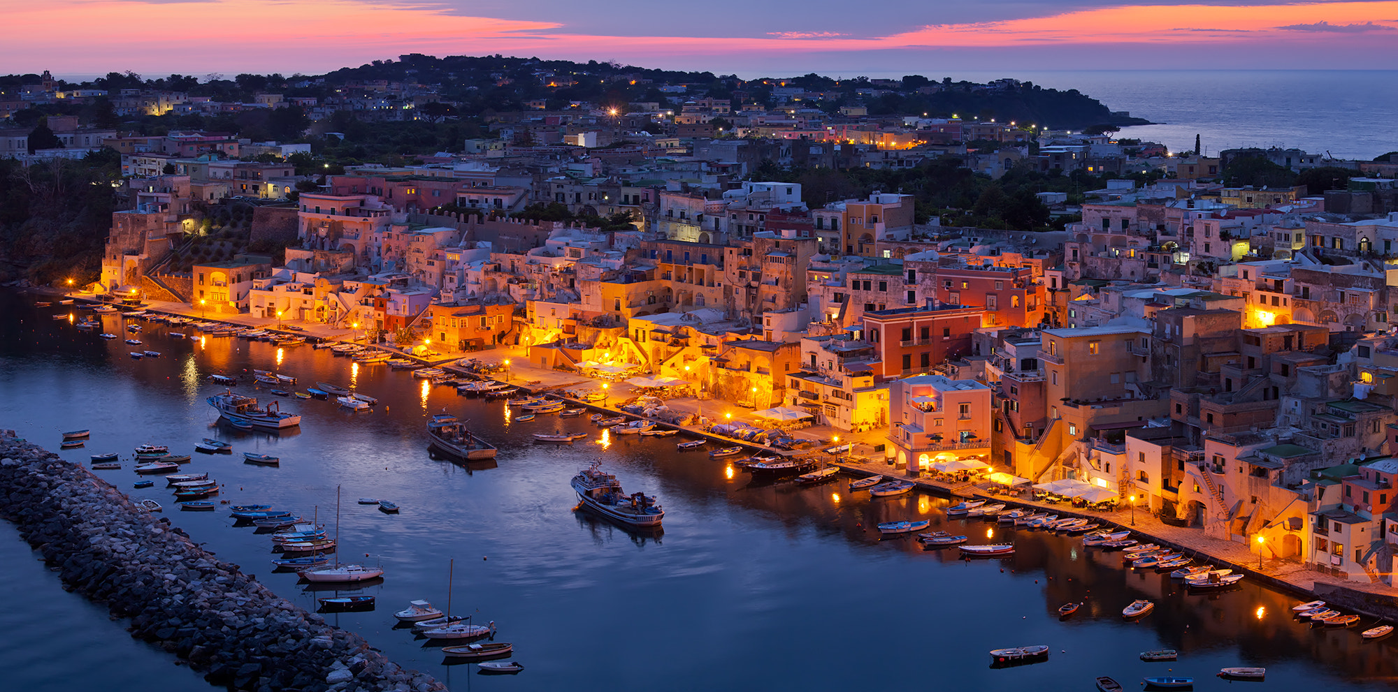 Photograph The Blue Hour on Procida by Jim Nilsen on 500px