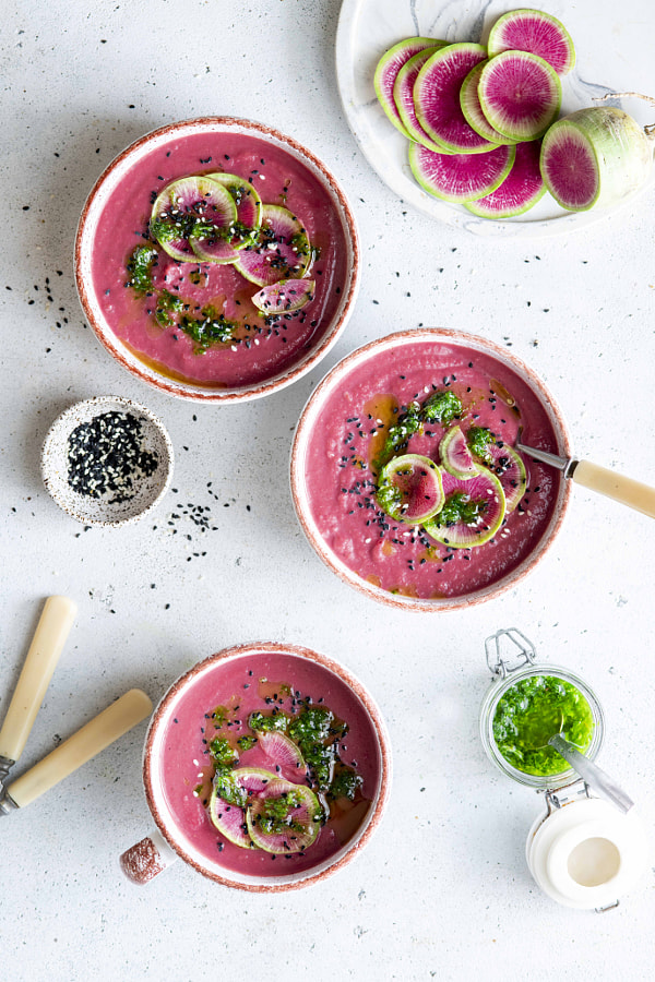 Watermelon_radish_soup by Irina Meliukh on 500px.com
