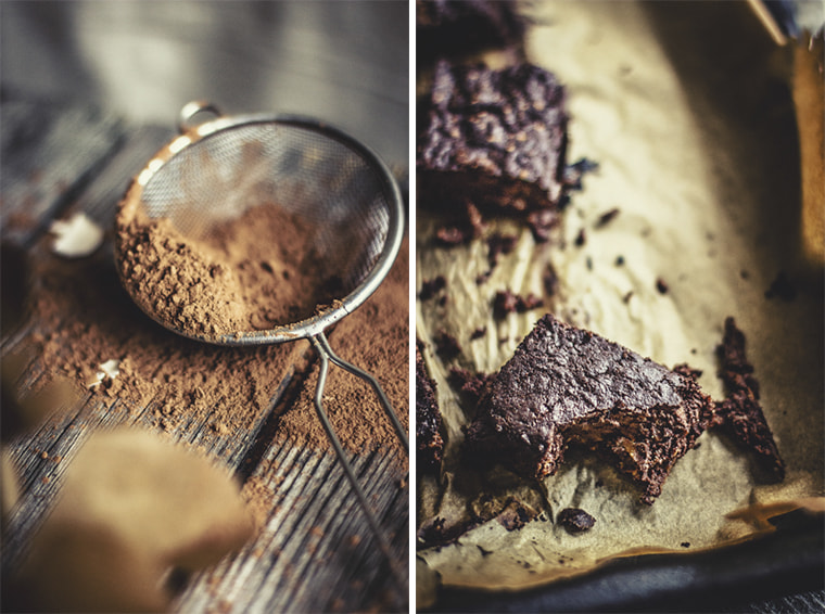 sweet potatoe brownie by Amalija Andersone on 500px.com